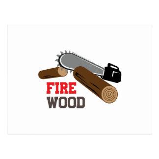 Fire Wood Postcard