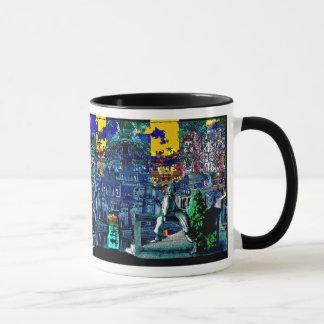 Fire Work Sky - Mug