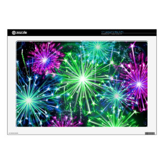 Fire works laptop decal