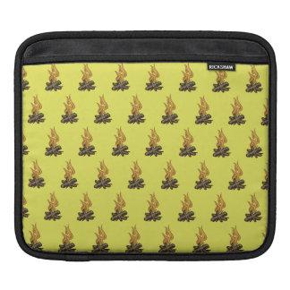 Fire Yellow iPad Sleeve