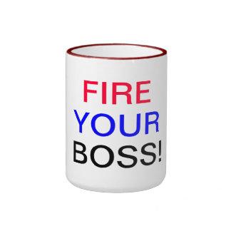 Fire Your Boss Ringer Mug