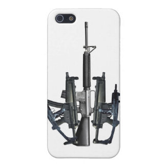 Firearm Middle Finger iPhone 5 Cover