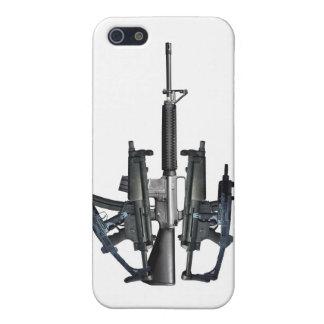 Firearm Middle Finger iPhone SE/5/5s Case