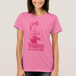 Firearms Are A Girls Best Friend Shirt