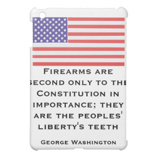 Firearms are second only to the Constitution in im iPad Mini Case