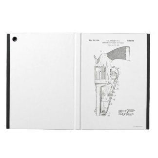 Firearms attachment patent - circa 1934 cover for iPad air
