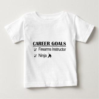 Firearms Instructor - Ninja Career Baby T-Shirt