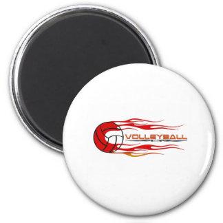 Fireball 2 Inch Round Magnet