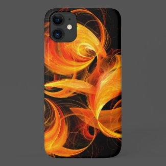 Fireball Abstract Art Case-Mate iPhone Case