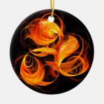 abstract, art, fine art, christmas, love, round, ornament, Ornament with custom graphic design