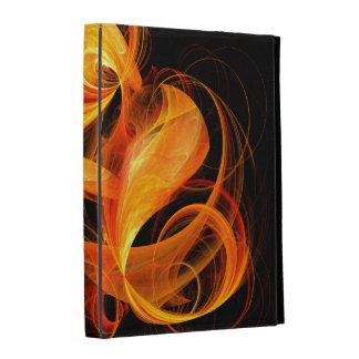 Fireball Abstract Art iPad Folio Cases
