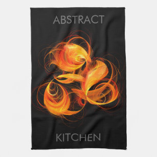 Pleasant Geometric Abstract Art Kitchen Hand Towels Zazzle Complete Home Design Collection Epsylindsey Bellcom