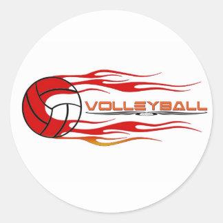 Fireball Classic Round Sticker