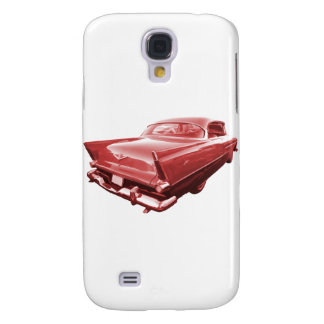 Fireball fury 1956 Plymouth tail fins Galaxy S4 Case