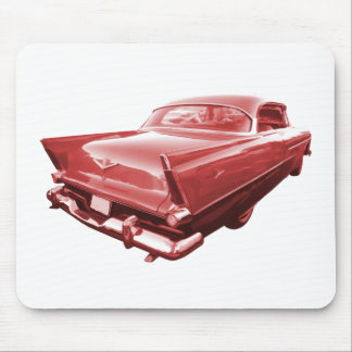 Fireball fury 1956 Plymouth tail fins Mouse Pad