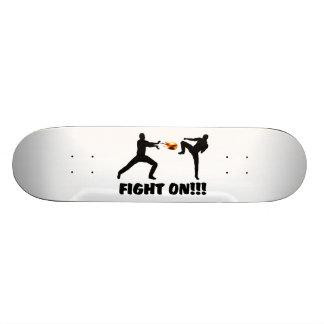 Fireball Gamer Fight On Skateboard Deck