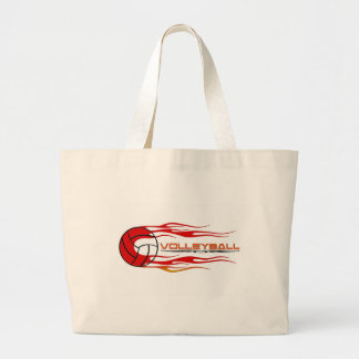Fireball Large Tote Bag