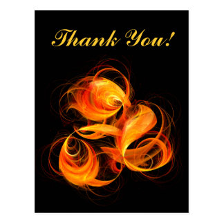 Fireball Thank You Postcard