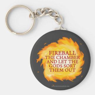Fireball the Chamber Basic Round Button Keychain