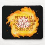 Fireball the Chamber Mouse Mat