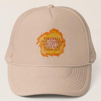 Fireball the Chamber Trucker Hat