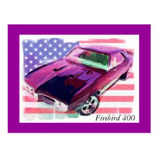 Firebird 400 tarjeta postal