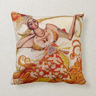 Firebird, bailarina para el ballet Russes por Baks Almohada