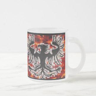 Firebird Fire Background Coffee Mug