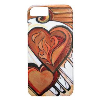 Firebird Heart iPhone 7 Case