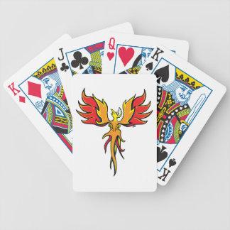Firebird Bicycle Playing Cards