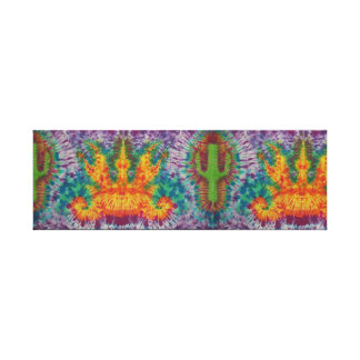"""Firebird Tie-Dye"" Canvas Print"