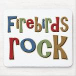 Firebirds Rock Mouse Mat