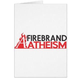 Firebrand Atheism Card