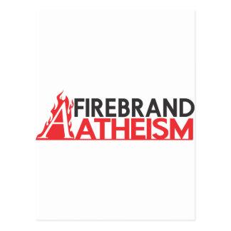 Firebrand Atheism Postcard