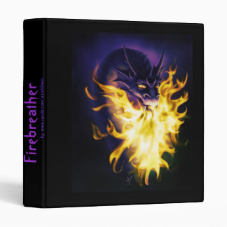 Firebreather 3 Ring Binders