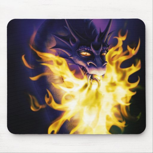 Firebreather Mouse Pad