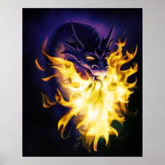 Firebreather Print