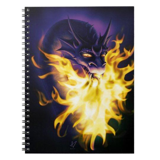 Firebreather Spiral Notebook