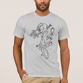 Firebreathing Panther Tee