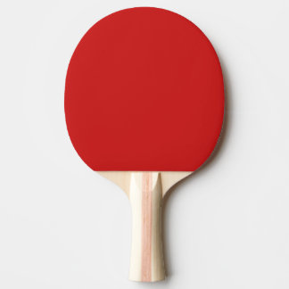 Firebrick Red Solid Color Ping Pong Paddle