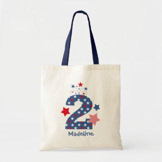 Firecracker 2nd Birthday Bag