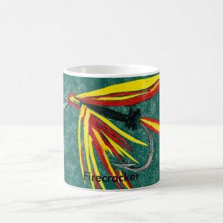 """Firecracker"" Classic Trout Fly Coffee Mug"