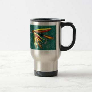 """Firecracker - Cruel Trout"" Fly Fishing Mug"