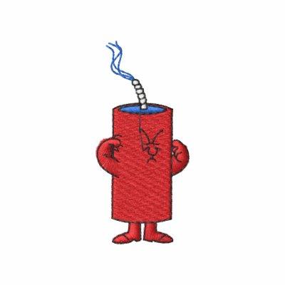 Firecracker Embroidered Shirt