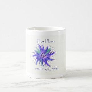 firecracker flower blue, Blue Blazes I need my ... Magic Mug