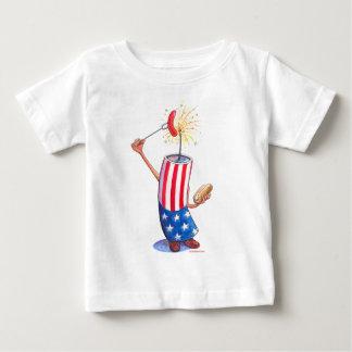 firecracker July 4th hotdog Tee Shirts
