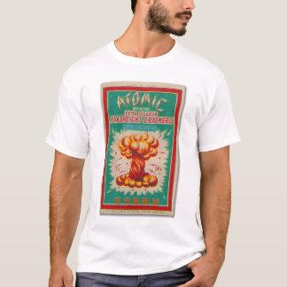 Firecracker Label Atomic Brand Vintage T-Shirt