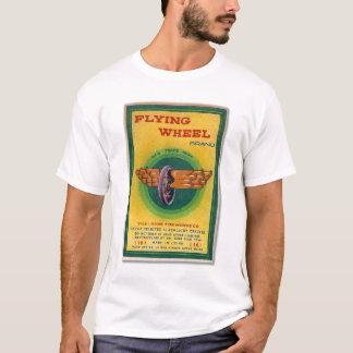 Firecracker Label Flying Wheel Brand Vintage T-Shirt