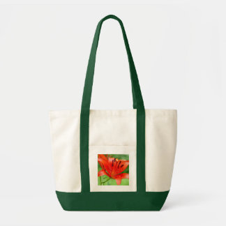 Firecracker Lilly Tote Bag