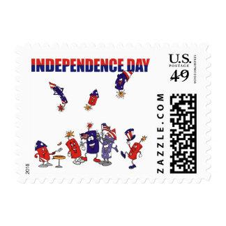 Firecracker Party Stamp